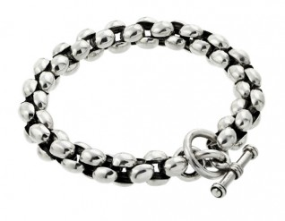 Round Link Bracelet