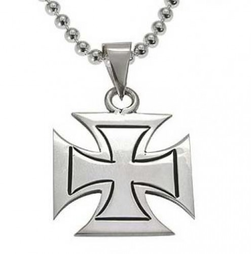 custom maltese paul paulmichaeldesign cross hand made pendant by michael engraved