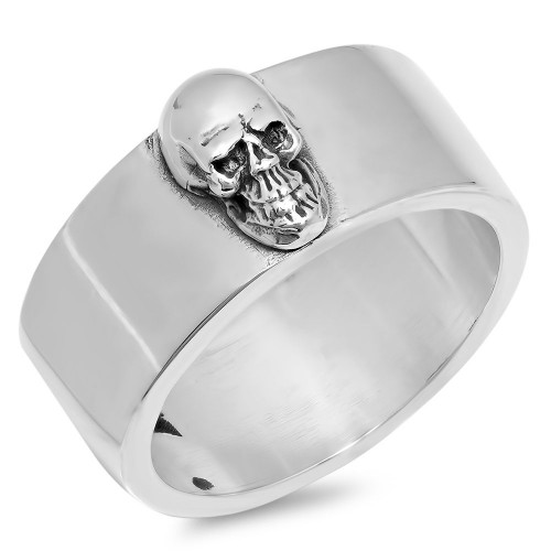 Classic Band With Skull Ring