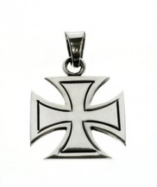 Maltese Cross With In-Line