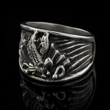American Eagle Glory Ring