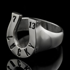 Lucky 7 and 13 Ring