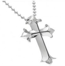 Large Gothic Cross With Chain