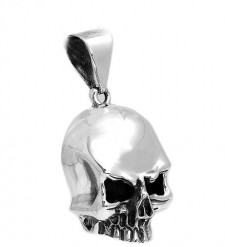 Large Jawless Skull Pendant