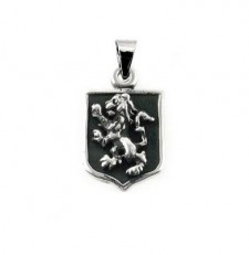 Distinguised Lion Shield Pendant