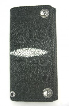 Stingray And Leather Wallet