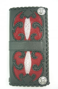Fine Leather and Stingray Wallet